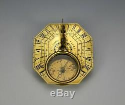 Fine Butterfield Type Sundial By Chapotot Circa 1680