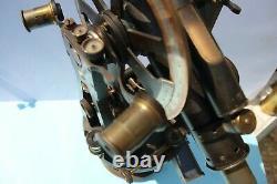 Fine Late Victorian Brass Theodolite