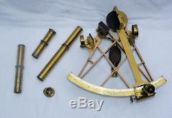 Fine lattice frame sextant Berge London, late Ramsden