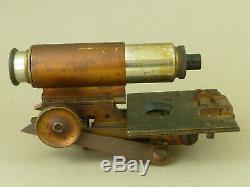 Folding Brass Field Microscope J. Swift & Son London Antique
