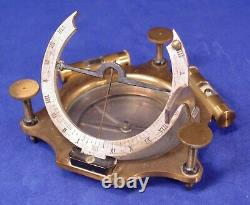 French Equicnoctial Sundial circa 1900, Exc. Condition