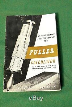 Fuller Cylindrical Slide Rule