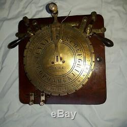 Fully Working Breguets Quadrant Dial Telegraph (c 1850) and Sounder