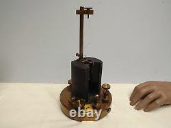Galvanometer (brass) Nalder Brothers (restoration) Original Condition (c1880)