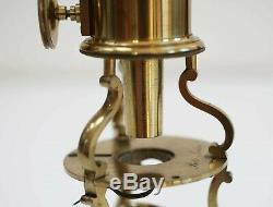 George III Cased Culpeper Type Microscope By Robert Brettell Bate London