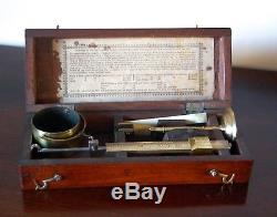George IV Chondrometer Or Grain Scale By Robert Brettell Bate Of London