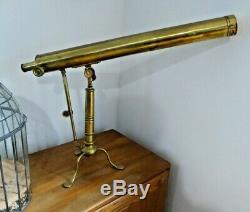 Georgian Circa 1770 REFRACTING BRASS TELESCOPE BY JESSE RAMSDEN LONDON