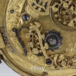 German astronomical moon phase alarm pendant watch with perpetual calendar 1635