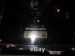 Ghostbusters ESP Shock Box Vintage Beckman PH Meter RARE Venkman Prop