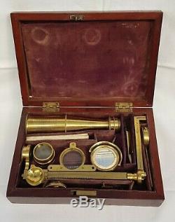 Gould type microscope Circa 1850