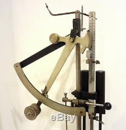 Huge Antique 50 Lbs. Yarn Strength Tensile Tester Machine Testing Thread Scale