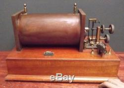 INDUCTION COIL Telegraph Radio Fine Large Tested & Working C1910