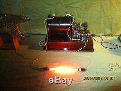 Induction Coil, Large, Fierce, Vintage Physics Stunning Condition & Working