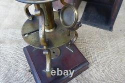 Joseph Linnell Culpeper Type Antique Microscope Circa 1764 1775 As Photo's