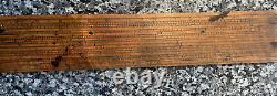 KJS1924 18c Antique Scientific Instrument Rule Navigation Scale Improved R Donn