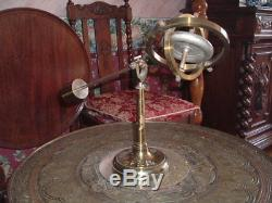 Large antique Gyroscope on stand