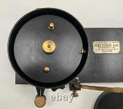Late Nineteenth Century French Sunshine Recorder By Jules Richard Paris