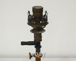 Late Victorian Gas Mantle Galvonometer Lamp By Auerlicht Germany
