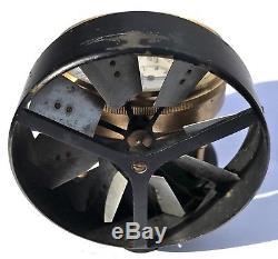 Lovely Antique Vane Anemometer Velocity Meter Air Flow Townson & Mercer London