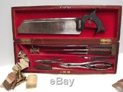 MEDICAL Surgeons Kit Amputation Banded Fitted Case C1830