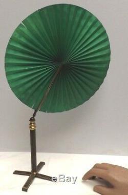 MICROSCOPE Candle Fan 19th Century Rare Museum quality Telescopic