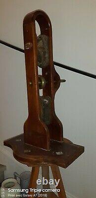 Machine Électrostatique Ramsden Wimshurst Ruhmkorff antique scientifique TSF ham