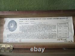 Marine Barometer, Kew Pattern, Vintage (1938) Meteorology Negretti & Zambra