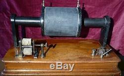 Massive Antique Induction Coil circa 1870