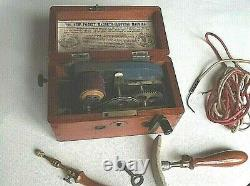 Medical Magneto Machine Pocket Magneto Working Fine Condition Small