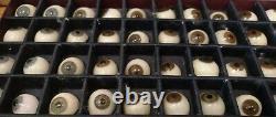 Medical antiques Antique Glass Eyes Real Glass Eyes Antique Eyes Prosthetic eye