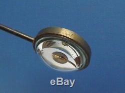Microscope Bullseye Condenser Lens Lacquered Brass C1860