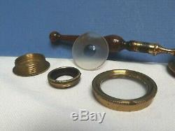 Microscope Handheld Microscope C1820 Live Cell Microscope Rare Brass