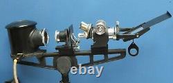 Microscope Microprojector Flatters & Garnett Ltd Working Serviced 1960