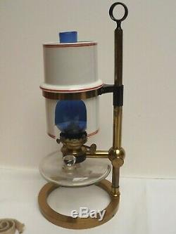 Microscope Microscope Lamp Brass Fine Condition Complete C1870 Cased