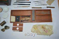 Microscope slide preparation kit C. Baker