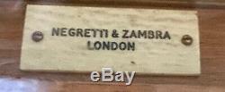 Negretti & Zambra Antique Ornate Oak Barograph