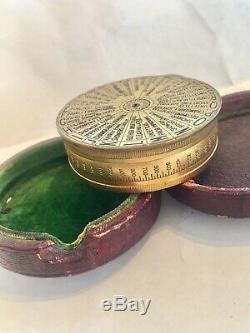 Negretti & Zambra Antique Pocket Barrometer