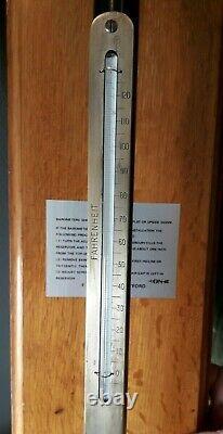 Negretti & Zambra'fortin' type Barometer