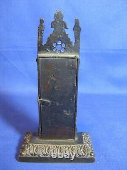 Original Rare Antique Early Victorian Gothic Cast Thermometer