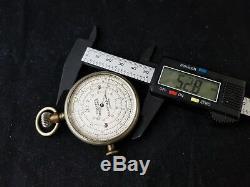 Pocket Watch Style Boucher's Calculator Negretti Zambra London