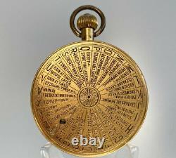 Pocket Weather Forecasting Aneroid Barometer By Negretti & Zambra London