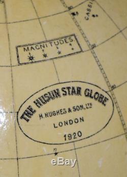 Presentation star globe, Husan Star Globe Henry Hughes