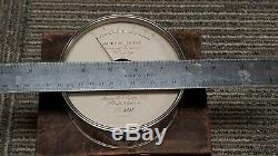 QUEEN AMMETER 118 YEARS OLD withWOODEN CASE! FINAL LOWEST PRICE