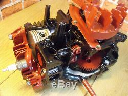 Quantum Display Engine, Sectioned 4 stroke, Stationary Engine, Cut Away Engine