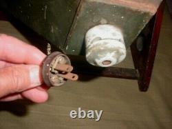 RARE! 1920's ANTIQUE VINTAGE ENGELN ELECTRIC X-RAY MACHINE FILM LIGHT BOX