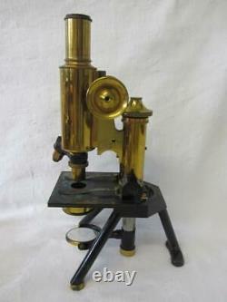 RARE Antique Brass James Swift & Son London Discovery Microscope c1901-10