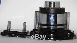 RARE Vtg Antique ART DECO Desktop BAROMETER THERMOMETER CA LENDER -PL-3200