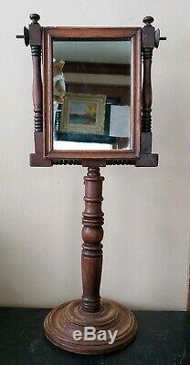 Rare 18th/19thc Zograscope Pedestal Mirror Print Magnifier Device Scientific