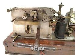 Rare Antique 19th Railroad Telegraph Sending Receiving Station Morse Ink Writer