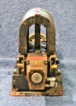 Rare Antique Western Electric 80v Telegraph Telephone Magneto Generator Dynamo